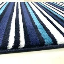 blue runner rug simple striped outdoor for and white cobalt solid navy