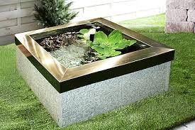 Fontana Cascata Da Giardino : Vasca fontana da giardino quadrata