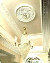 what size ceiling medallion for chandelier small also large of flat ceilin