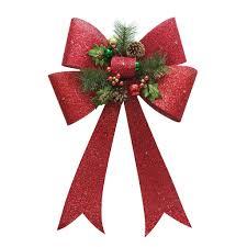 Light Up Christmas Bows St Nicholas Square Light Up Bow Christmas Wall Decor