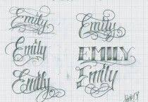 Tetování Písmo Vzor 12 Kronika Name Tattoos Tattoo Script