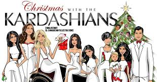 Kourtney shares illustrated Kardashian Christmas card - NY Daily News