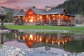 Keystone Ranch Home Brasada Ranch Style Homes rustic-exterior