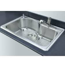 single basin kitchen sink sinks bowl at with drainboard