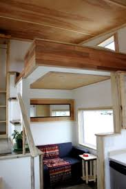 Small Picture Leaf House Yukon Canada Living room under clever open loft