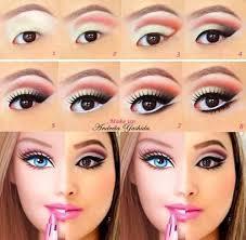 human pink barbie doll makeup tutorial pink barbie doll makeup tutorial best 25 barbie costume ideas you mugeek vidalondon barbie
