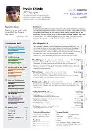 best ui resume sample letter service resume best ui resume web ui developer resume samples livecareer my resume pravin shinde