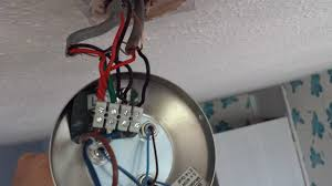 electrical ceilling light wont switch off after a new current wiring