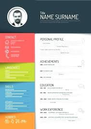 Free Creative Resume Templates Download Word Resume Cute Free