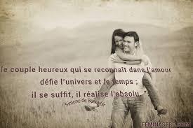 Le Couple Heureux Couple Citations Proverbes Amour Bonheur