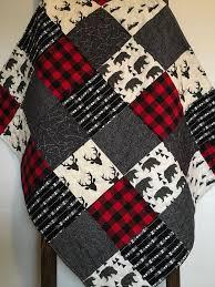 Best 25+ Rustic baby bedding ideas on Pinterest | Rustic baby ... & Baby Boy Quilt-Rustic Baby Quilt-Deer Baby Quilt-Baby Boy Crib  Bedding-Woodland-Buffalo Red Plaid-Bear-Arrow-Trees-Modern Baby Blanket Adamdwight.com