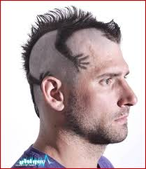 Man Hairstyle 43272 Funky Mens Mohawk Haircut Style Men Hairstyle