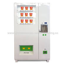 Cup Noodle Vending Machine Interesting China TCN ODMOEM 48hrs Unattended Vending Convenience Store Instant