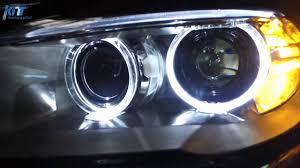 Bmw Bi Xenon Lights Headlights Full Led Bi Xenon Angel Eyes Bmw 5 Series F10 F11