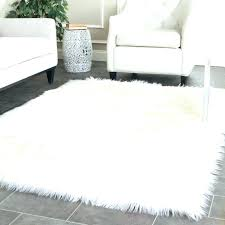 white rag rug faux fur rug good rag rugs and perfect white fur area rug outstanding