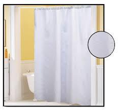 shower curtain waffle weave white 70 x 72 bath decor