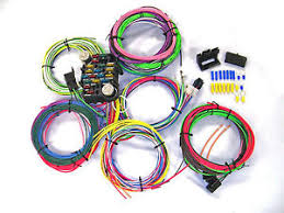 universal gearhead 1964 1965 1966 ford mustang wire wiring harness image is loading universal gearhead 1964 1965 1966 ford mustang wire