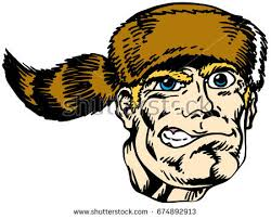 pioneer handcart clipart. mascot pioneer head, proud and tough, which gives tribute to traditional school mascots but handcart clipart s