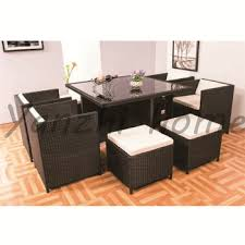 garden dining furniture rattan. georgia restaurant 9 seater french outdoor/home furniture wicker dining tables and chairs garden plastic rattan r