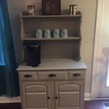 Adorable entertainment center turned into a coffee bar. Find More Coffee Bar Hutch Pending Pick Up For Sale At Up To 90 Off