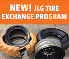 replacement jlg lift parts by the jlg aftermarket parts team jlg new jlg tire exchange program