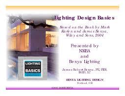 Lighting Design Basics Mark Karlen Pdf Lighting Design Basics Docsity