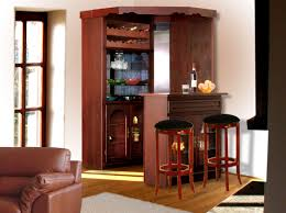 furniture made of wood. Corner Bar Furniture Made Of Wood And Transparent Glasses Also Wine Storage