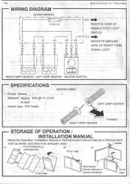 how easy is it to fit heated grips wired to ignition? page 1 Wiring Harness Diagram at Kawasaki Heated Grips Wireing Diagram