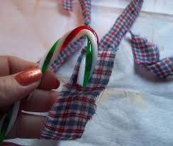 Plastic Candy Cane Decorations Primitive Homespun Christmas Candy Canes Hometalk 77