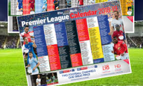 Football League Table Wall Chart Free 2018 19 Premier League Wallchart With The Mail On