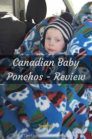 canadian baby ponchos review