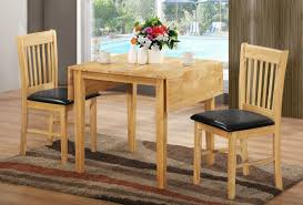 Drop Leaf Kitchen Table Chairs Drop Leaf Kitchen Tables For Small Spaces Brown Wooden Bench