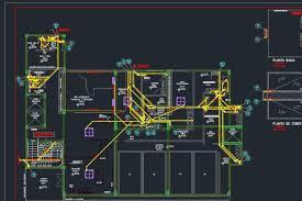 Subramais de esgoto definidos em projeto. Nbr 8160 Detalhada Em Autocad E Modelagem Bim