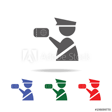 Web Design Office Enchanting Customs Officer Icon Immigration Officer With Passport Elements Of