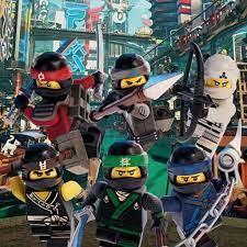 The Lego Ninjago Movie Poster Leinwandbild