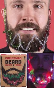 Beard Lights Christmas Beard Lights Tinsel Set 16 Asos Beard Gifts