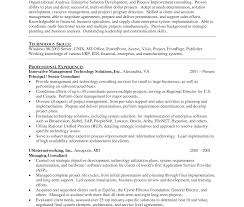 Finance Resume Format Experienced Resume Template Sample