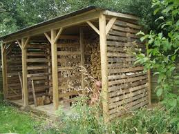 How To Build Your Own Log Store For Your Wood Burning Stove