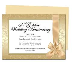 Wrapping Anniversary Invitation Template 25th 50th Wedding