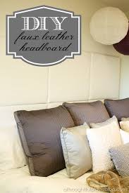 chic and creative diy leather headboard diy tufted hometalk bedroom ideas crafts how to painted king panels