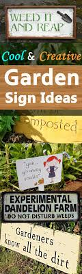 garden sign ideas 1