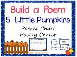 Pocket Chart Poems For Kindergarten 48 Memorable Kindergarten Pocket Chart Center