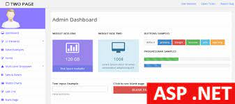 free asp admin template for personal