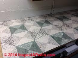 linoleum like floor covering linoleum rug c inspectapedia cw