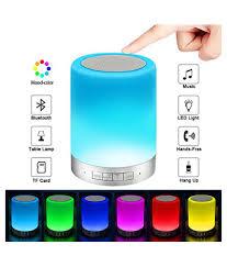 Generic Brand Touch Table Lamp Portable Bluetooth Speaker