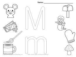 Small Picture m coloring pages