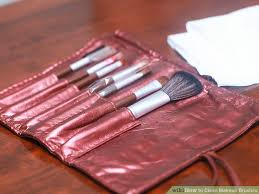 image led clean makeup brushes step 25