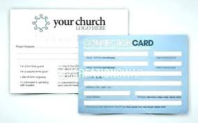Welcome Card Templates 8 Church Connection Card Templates Church Welcome Card