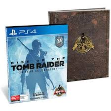 rise of the tomb raider 20 year celebration artbook edition