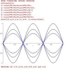 for this case one finds the standing wave form y x t cos 3 p t sin 3